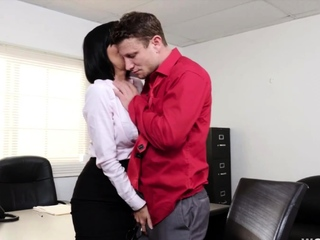 Veronica Avluv fucking in the office