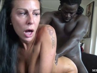 EYE flipping climax from GERMAN cougar Texas Patti at phat dark-hued knob