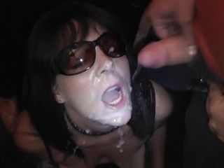 One wifey creamed by hundreds of folks