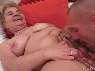 Nymph Bella Get Her aged fur covered vagina romped - granny lovemaking