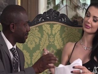 Exclusive Whore Takes Black Cock with Aletta Ocean