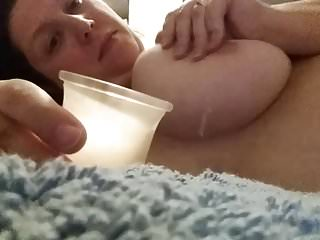 Self throes Hot blow up expand on wet blanket overhead titties