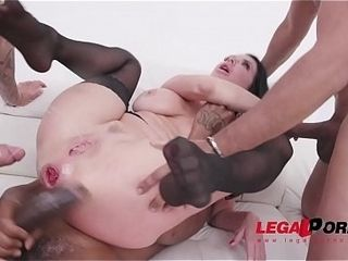 Veronica Avluv monster beefstick drill sesh with double anal penetration &amp_ 0% cooch SZ2122