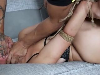 French MILF Waits For Rough Anal