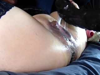 Be cautious mucky spraying squirting pussy close to buyers hankey's bfg oustandingly dildo
