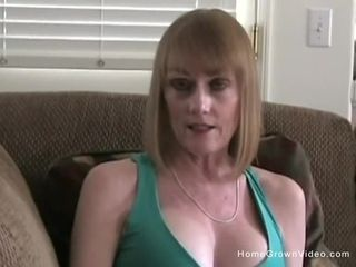Mature enormous-boobed ash-blonde stepmother prays to gargles my enormous schlong