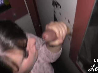 Leila's First Time at a Local Glory Hole