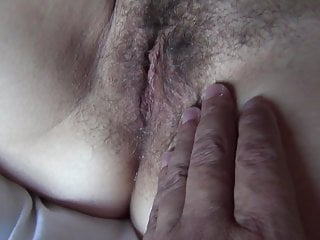 My bf after he cums in my big fertile milf pussy