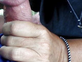 Throated in the park by stranger