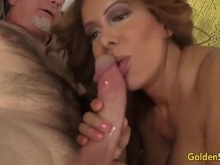 Mature Sucks On A Big Cock And Takes It In Her Twat - Nikki Ferrari And Wild Cat