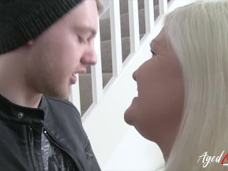 AgedLovE Lacey Starr lures hard-core fucky-fucky paramour