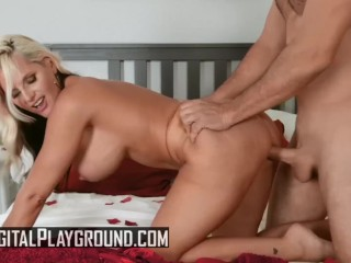Digital Playground - huge boob towheaded cougar Alena Croft gets torn up