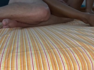 I fuck her in every way with 2 dicks too and she cums a lot