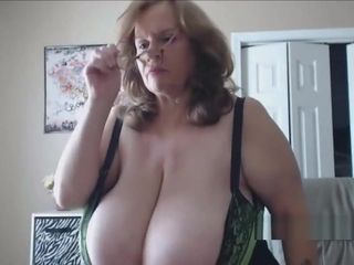 Granny with huge breast name?