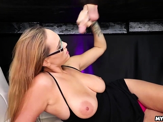 Alexia Rae makes her descent down the jerking table zone
