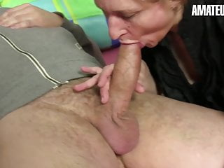 AmateurEuro - German GILF Teresa R. Has Hot Anal In MMF Sex