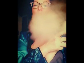 Mistress Nyxi Blowing Clouds