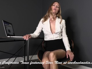 Flick Conference taunt - female dom point of view Office predominance TRAILER