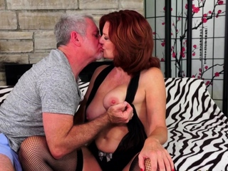 Passionate Sex with Mature Andi James
