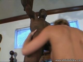 DP Anal 3some With Two Black Cock Deep Inside Blonde Pussy