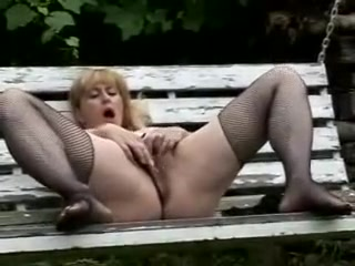 Mary 48 giving herself an orgasm