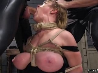 Enormous bra-stuffers cougar group sex domination & submission ravage