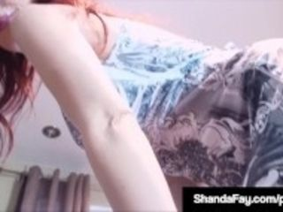 """""""Horny Housewife Shanda Fay Gets A Load Of Cum On Her Butt!"""""""