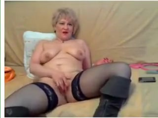 Best Homemade clip with Stockings, Blonde scenes
