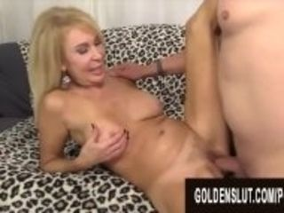 """Golden Slut - Stunning Mature Blondes Getting Drilled Compilation Part 7"""