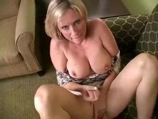 Super-naughty mature with big titties having her way with a dude