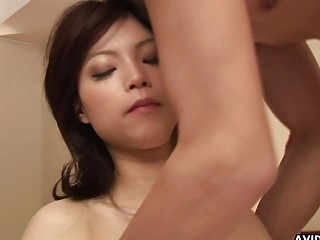 Japanese housekeeper Kurumi Katase had sex uncen