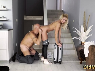 Bicurious older duo and youthful stud very first time eventually at home