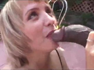 This mom wants to be filled with male pole