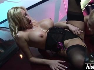 Fat cock makes her moan loudly