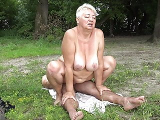 Naturist tears up grandma in public