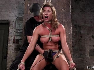 Meaty mounds mom sub assfucking hard-core played in frog-tie