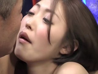 Super-naughty chinese breezy in Exotic cougar JAV sequence