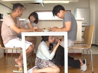 Freaky elderly and youthfull japanese act with freakyo mature
