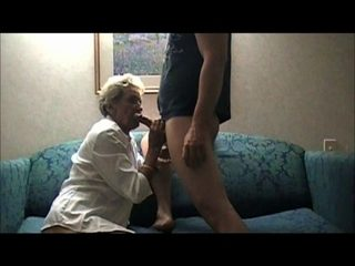 Old mature bitch fucking a young guy Part 1