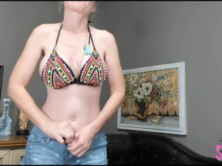 Vanilla Wheel Spin Game with Horny Julie MILF Jerk Off JOI Game