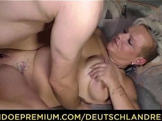 DEUTSCHLwith the addition of profit - abusive inexpert German granny Judith S. Gets white-haired on touching with the addition of fucked