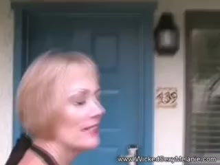 Point of view With nasty unexperienced grannie