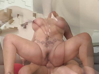 Mature bigtit mummy gets taboo fuck-fest with son-in-law