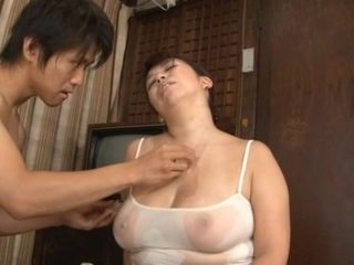 Chubby Stacked Mature Chick Yukari Orihara Fucks Younger Cock