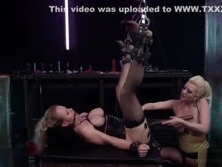 Lesbian porn video featuring Simone Sonay and Cherry Torn