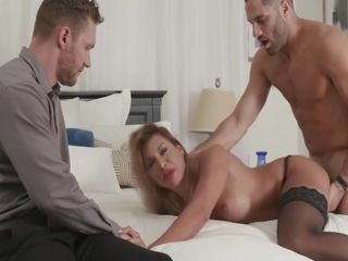 Hubby Invites His Best Friend To Fuck His Wife - Mercedes Carrera