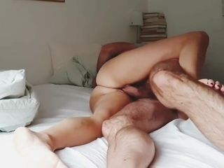 Amateur wife fucked with camera in place