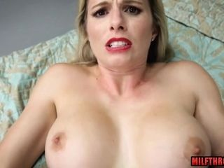 Cutie mom Cory pursue point of view pornography with internal cumshot