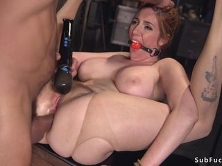 Thick knockers ginger-haired mummy I´d Like To plow anal drilled