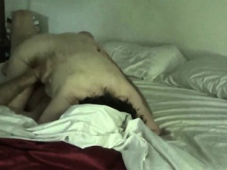 Horny Mature couple creating a sex tape